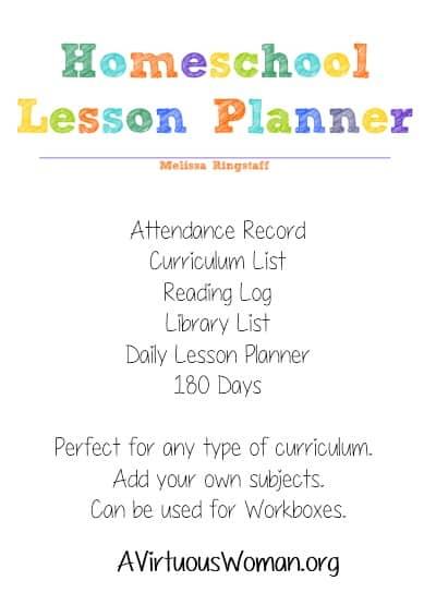 homeschool planner free printable calendar a virtuous woman a
