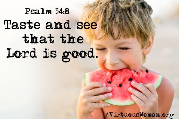 {Rest} Psalm 34:8