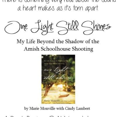 One Light Still Shines by Marie Monville {Book Review}