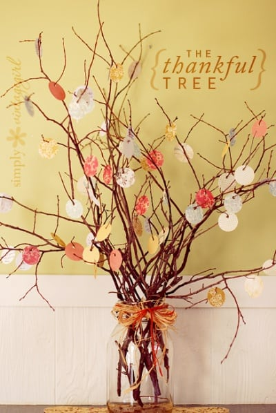 The Thankful Tree @ Simply Vintage Girl