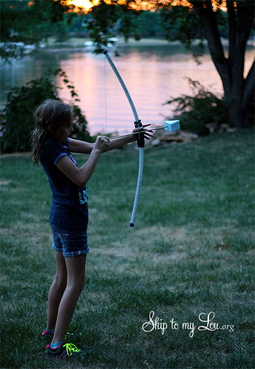 DIY PVC Bow and Arrow