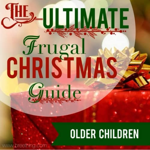 The Ultimate Frugal Christmas Gift Guide {Older Children}