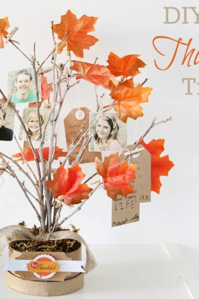 DIY Thankful Tree @ Crafts Unleased
