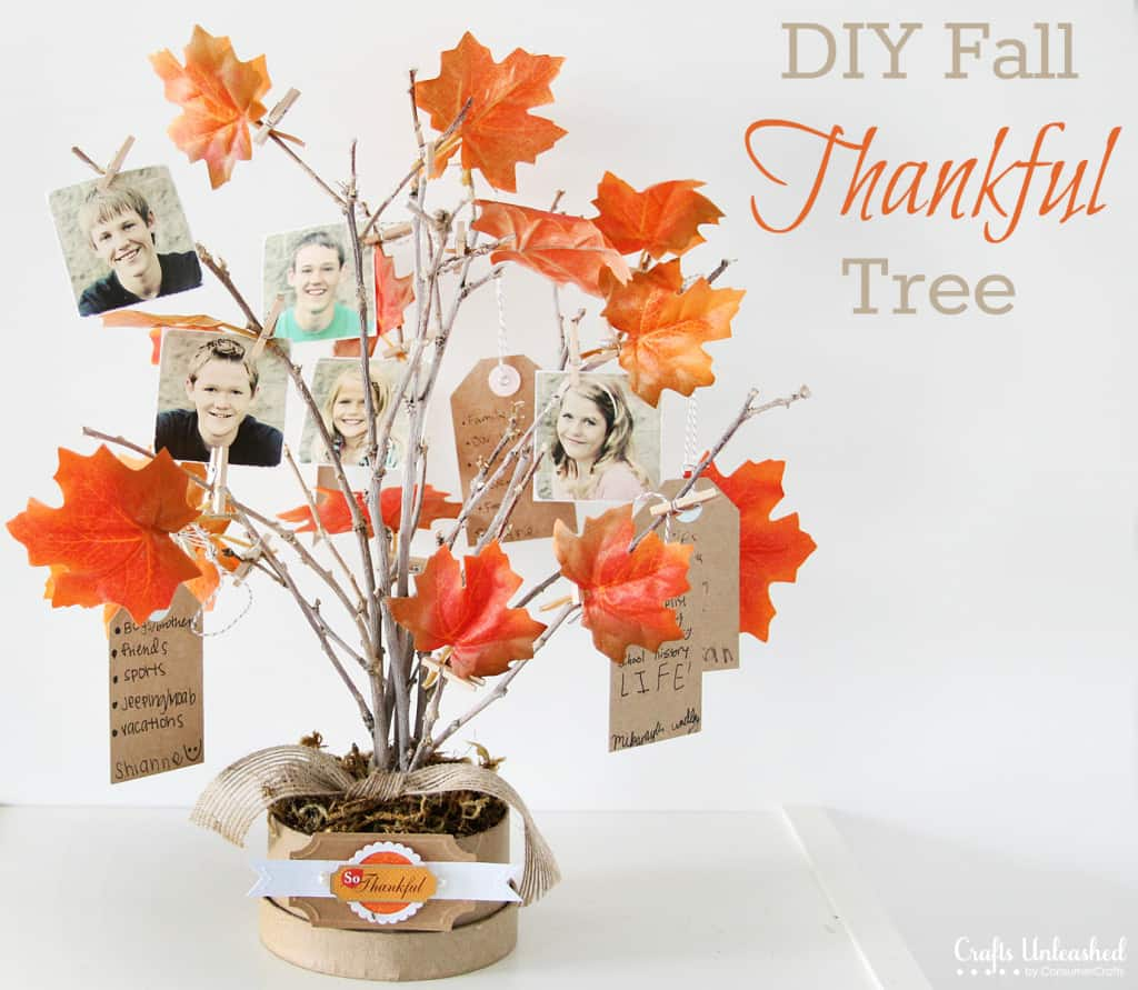 DIY Thankful Tree @ Crafts Unleashed