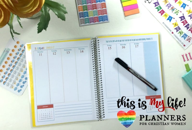 This is My Life! Planner @ AVirtuousWoman.org