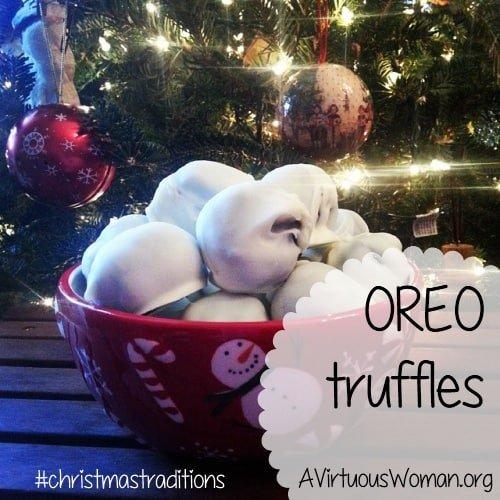 Oreo Truffles @ AVirtuousWoman.org