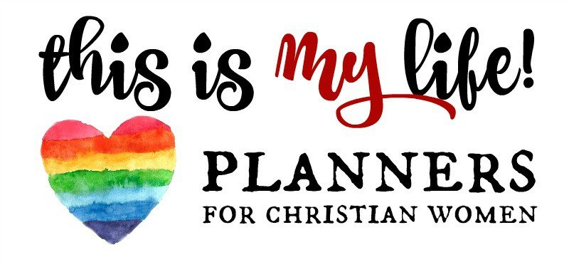 This is My Life! Planners for Christian Women @ AVirtuousWoman.org