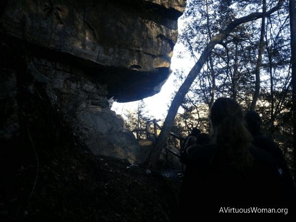 At Cumberland Falls.