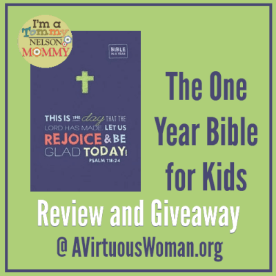 The One Year Bible for Kids {Review and Giveaway}