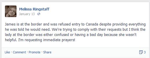 Urgent Prayer Request