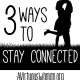 3 Ways to Stay Connected to Your Husband {31 Days of Calm Series} - 3 things you can do TODAY! @ AVirtuousWoman.org