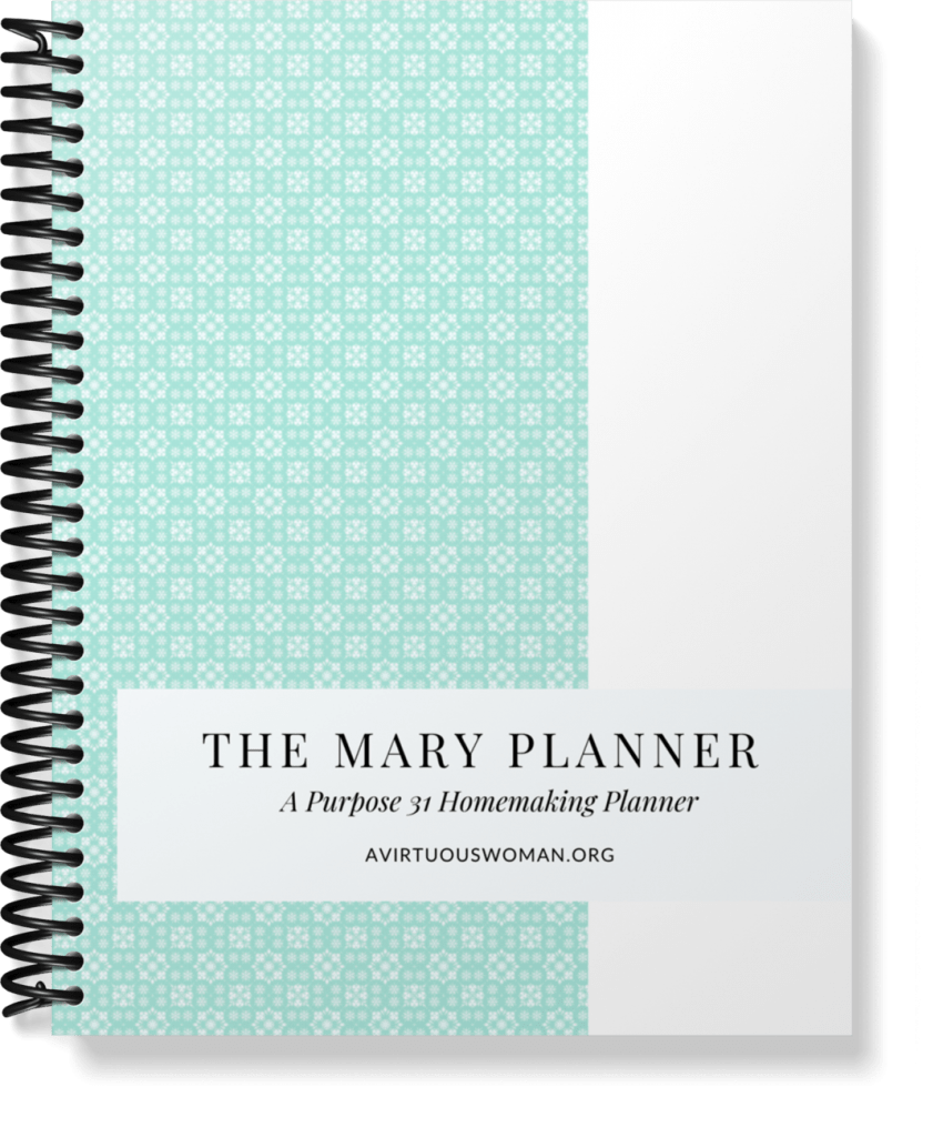 The Simplified Mary Planner @ AVirtuousWoman.org