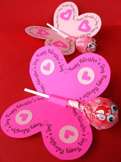 Butterfly Valentines @ Skip to My Lou