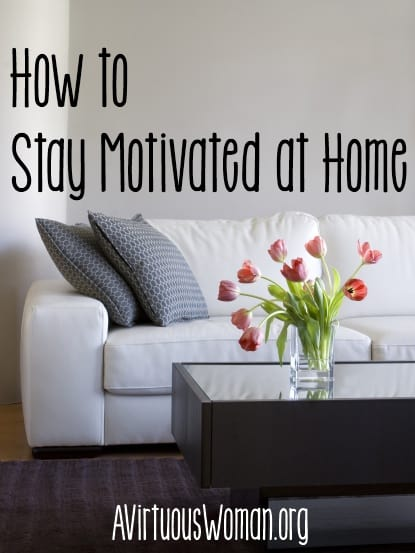 How to Stay Motivated at Home