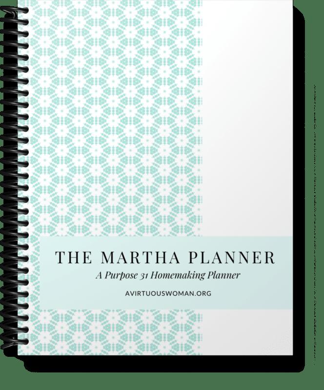 The Martha Planner @ AVirtuousWoman.org