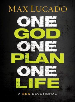 One God, One Plan, One Life by Max Lucado, PLUS a free printable prayer Journal for teens! @ AVirtuousWoman.org #moms #tommynelson