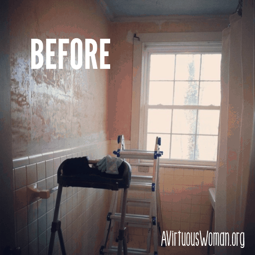Before And After Bathroom Makeovers On A Budget: Master Bathroom Makeover On A Budget