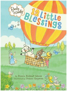 12 Little Blessings Book Review and Giveaway PLUS a Free Printable Lamb Craft! @ AVirtuousWoman.org