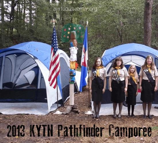 Pathfinder Camporee 2013 @ AVirtuousWoman.org