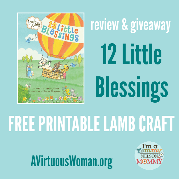 12 Little Blessings Board Book Giveaway