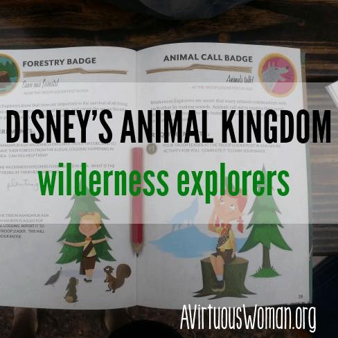 Wilderness Explorers at Disney's Animal Kingdom @ AVirtuousWoman.org
