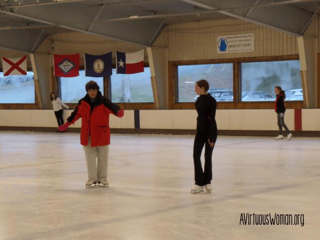 Ice Skating Practice @ AVirtuousWoman.org