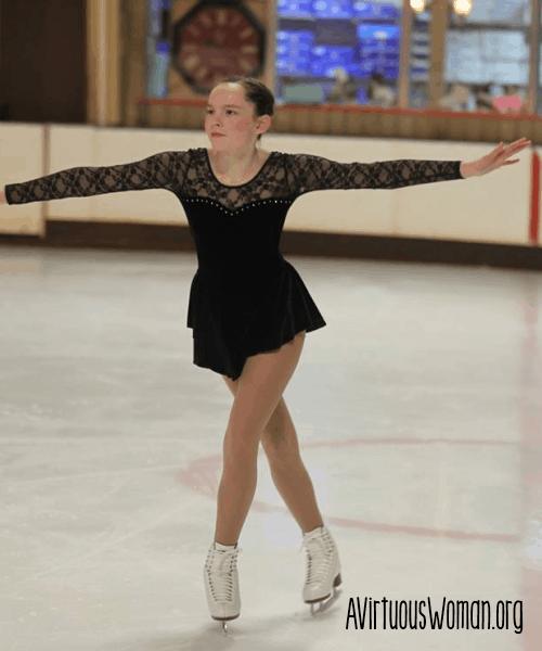 Ice Skating @ AVirtuousWoman.org