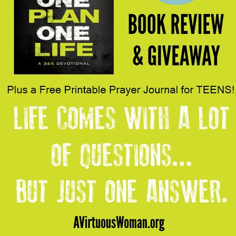 Encouraging Teens Plus a Free Printable Prayer Journal @ AVirtuousWoman.org