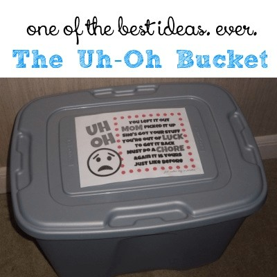 The Uh Oh Bucket @ AVirtuousWoman.org