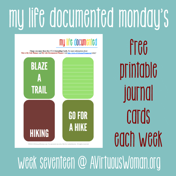 My Life Documented Monday #17