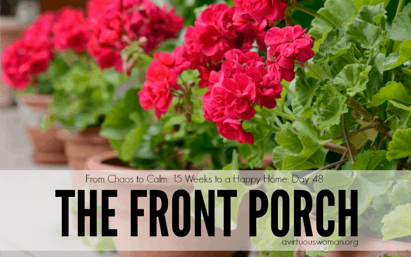 The Front Porch {Day 48}