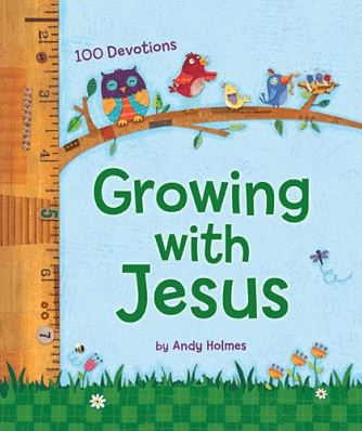 Growing with Jesus {Book Review}