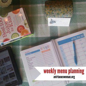 Meal Planning + Sundays at Home Link Up