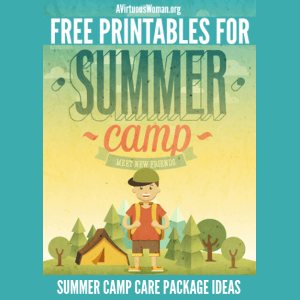 Summer Camp Care Package & Printables