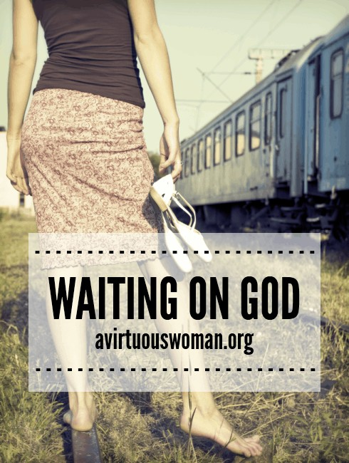 Waiting on God {Day 47} @ AVirtuousWoman.org