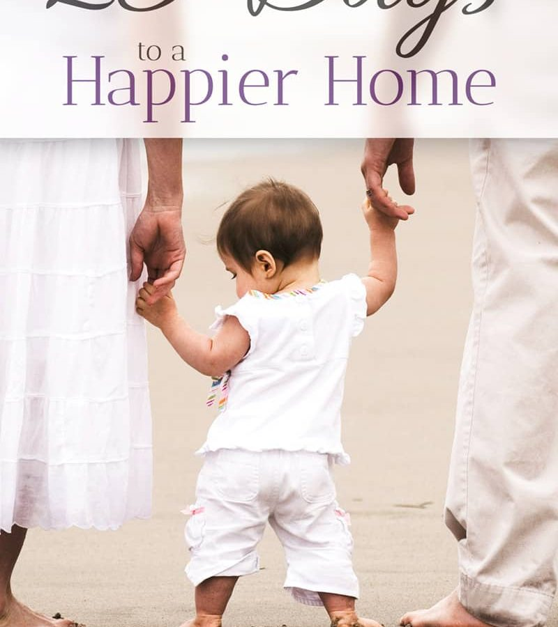 25 Days to a Happier Home by Alison Wood {Review and Giveaway} @ AVirtuousWoman.org