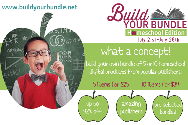 Build Your Own Homeschool Bundle Sale @ AVirtuousWoman.org