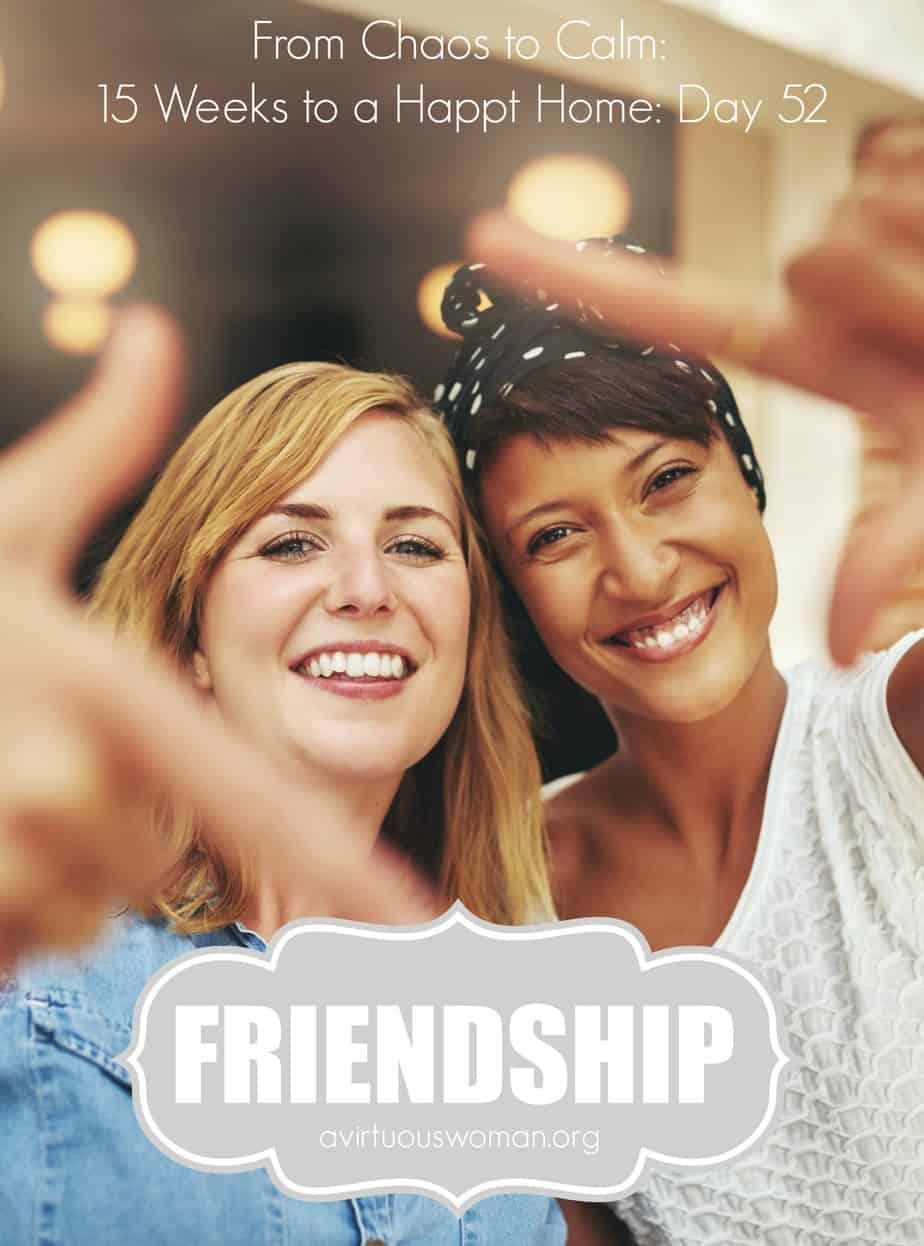 Friendship @ AVirtuousWoman.org