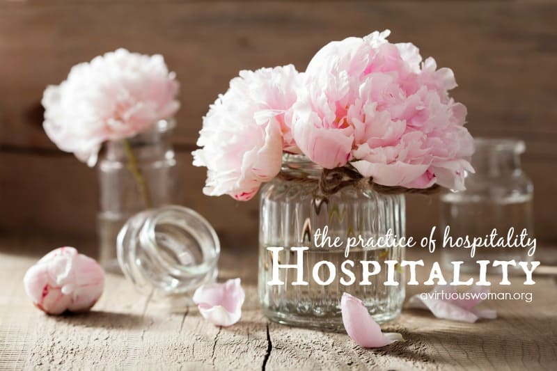 The Practice of Hospitality {Day 51}