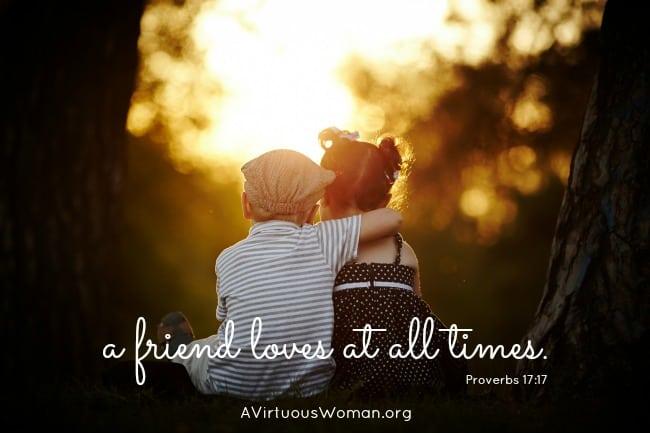Proverbs 17:17 {Rest}