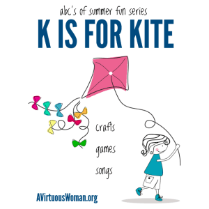 ABC's of Summer Fun {K is for Kite}
