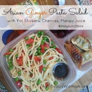 Asian Pasta Salad {Easy Lunch Box}