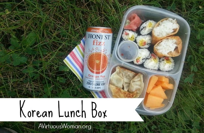 Korean Inspire Lunch Box @ AVirtuousWoman.org