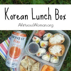 Korean Inspire Lunch Box @ AVirtuousWoman.org