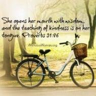 Proverbs 31:26 {Rest}