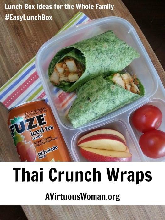 Thai Crunch Wraps @ AVirtuousWoman.org