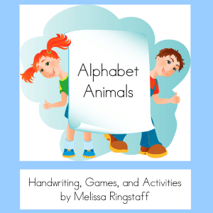 Alphabet Animals - Free Activity e-Book @ AVirtuousWoman.org