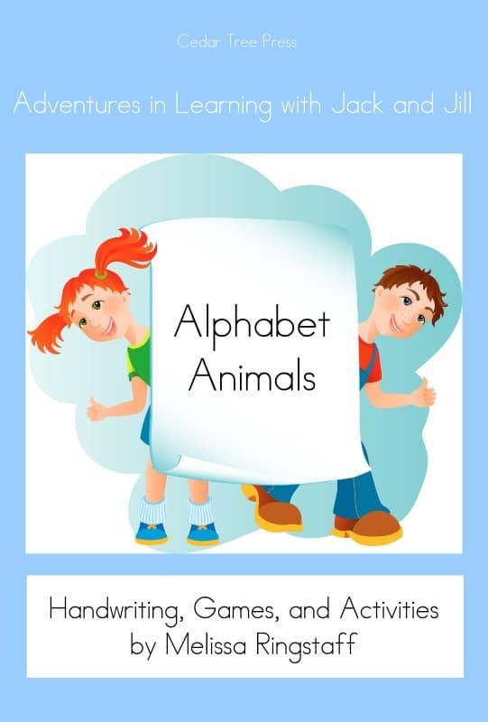Alphabet Animals - Free Activity e-Book @ AVirtuousWoman.org