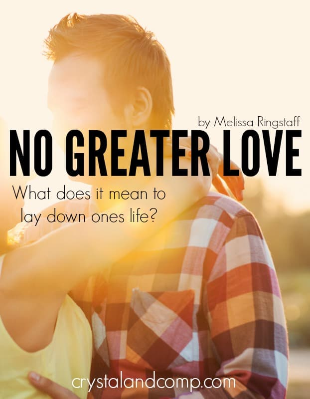 No Greater Love {What does it mean to lay down your?} @ AVirtuousWoman.org