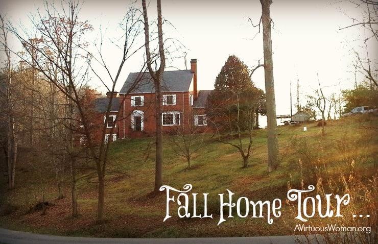 Fall Home Tour... @ AVirtuousWoman.org